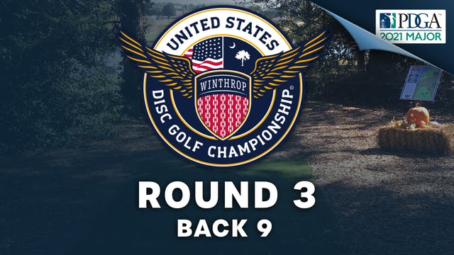 Round 3, Back 9   United States Disc Golf Championship