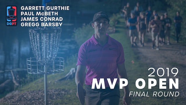 2019 MVP Open Live Replay - MPO Final Round