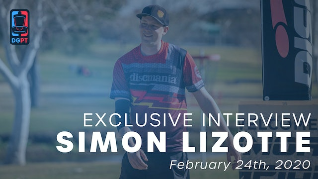 Simon Lizotte Exclusive Interview