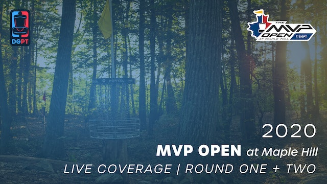 2020 MVP Open Live | Round One + Two