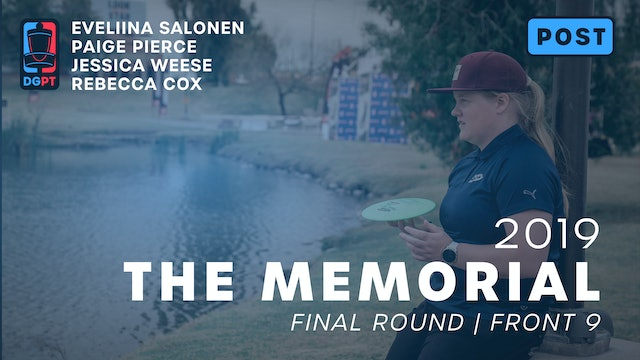 2019 Memorial Post Produced - FPO Final Round | Front 9
