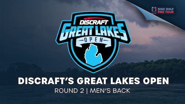 Discraft's Great Lakes Open   Round 2   Men's Back
