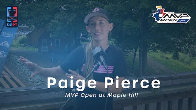 Paige Pierce Press Conference Interview