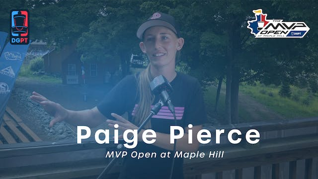 Paige Pierce Press Conference Interview