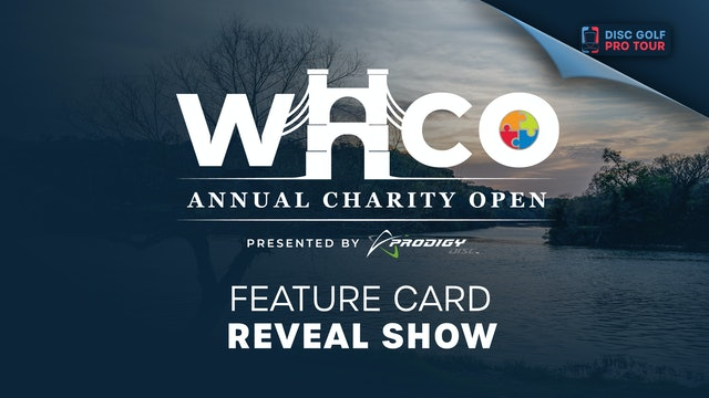 WACO Presented by Prodigy | Feature Card Reveal Show