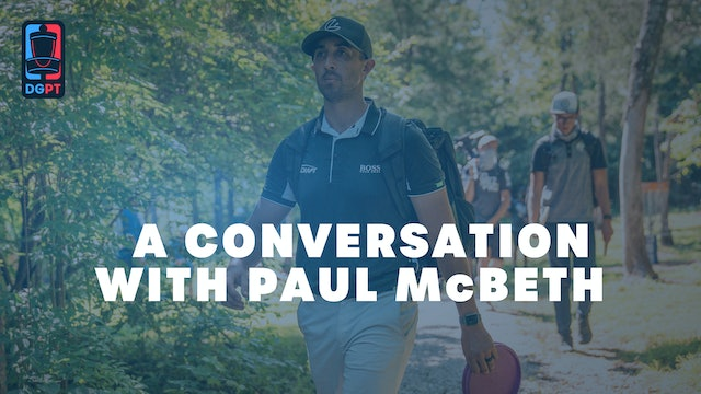 A Conversation with Paul McBeth