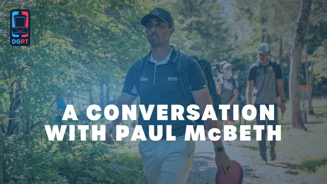 A Conversation with Paul McBeth