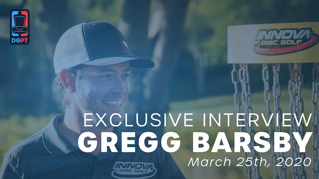 Gregg Barsby Exclusive Interview