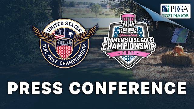 Press Conference   USDGC + TPWDGC
