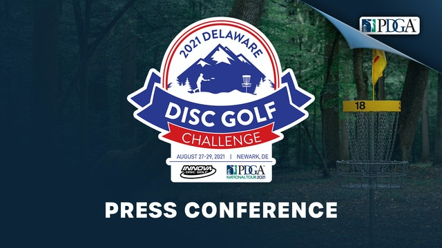 Press Conference | Delaware Disc Golf Challenge