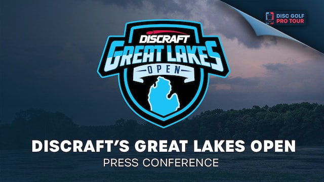 Discraft's Great Lakes Open | Press Conference