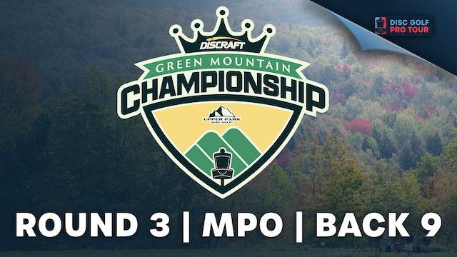 Round 3, Men's Back | Green Mountain Championship