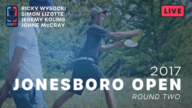 2017 Jonesboro Open Live Replay - MPO Round 2
