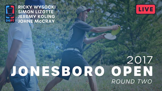 2017 Jonesboro Open Live Replay - MPO...