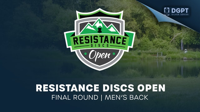 Resistance Discs Open | Final Round | Men's Back