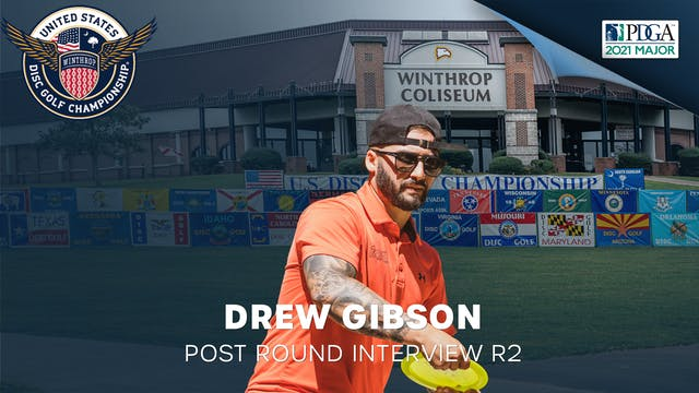 USDGC Round 2 - Post Round Interview - Drew Gibson