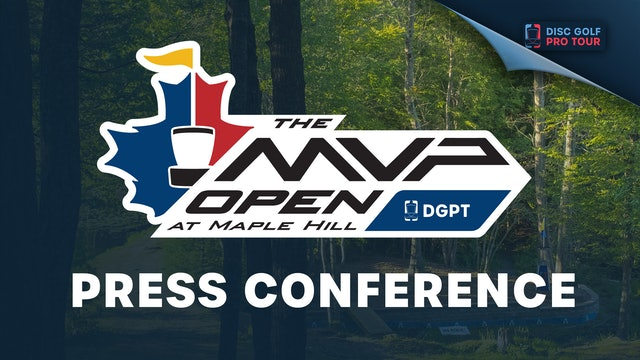 Press Conference | MVP Open at Maple Hill