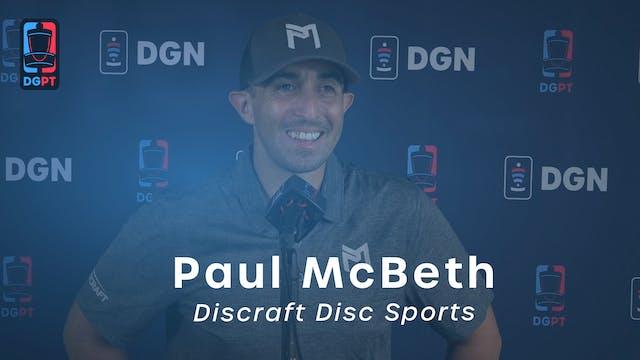 Paul McBeth Press Conference