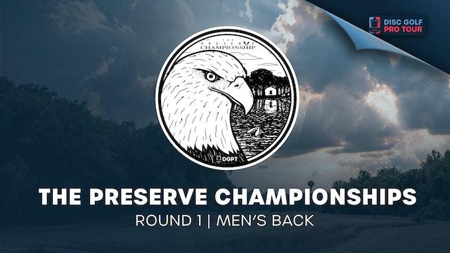 The Preserve Championships   Round 1   Men's Back