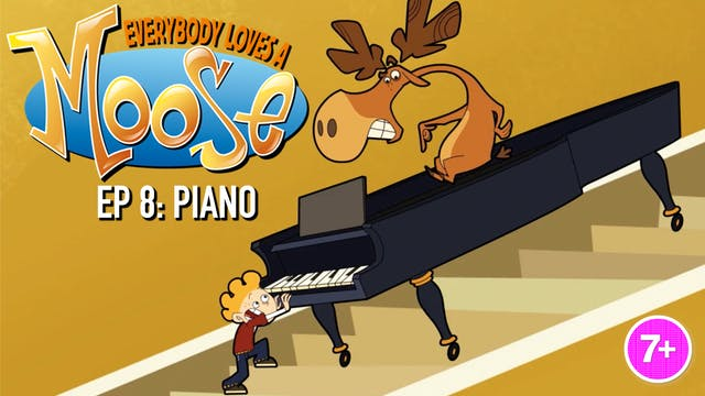 Everybody Loves a Moose - Piano (Part 8)