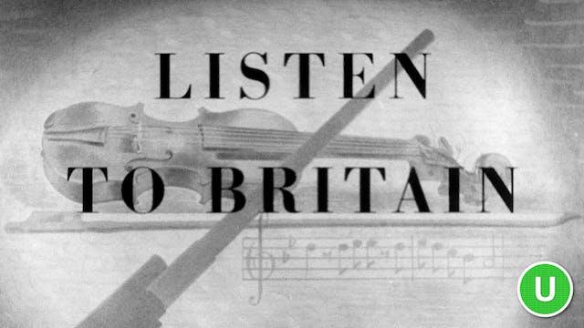 Listen to Britain