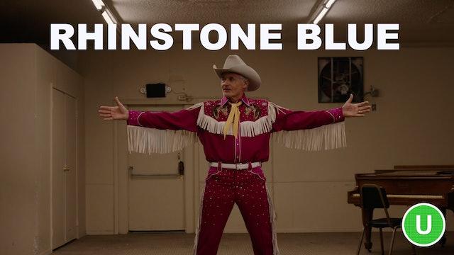 Rhinestone Blue