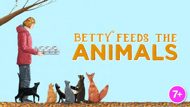 Betty Feeds the Animals