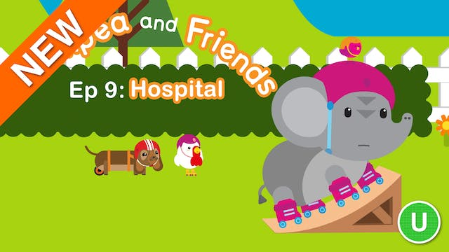 Chickpea & Friends - Hospital (Part 9)