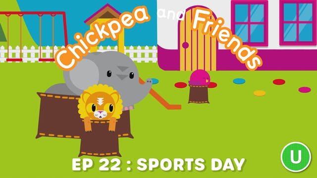 Chickpea & Friends - Sports Day (Part...