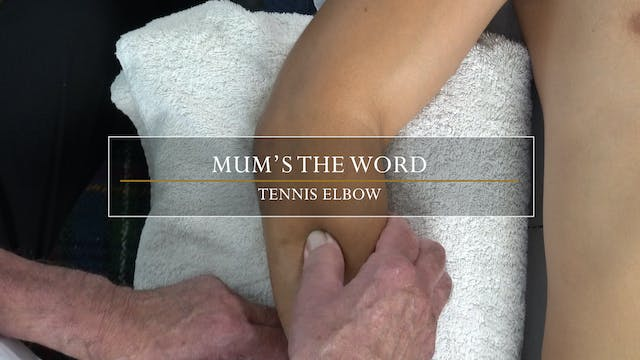 12. Mum's The Word / Tennis Elbow