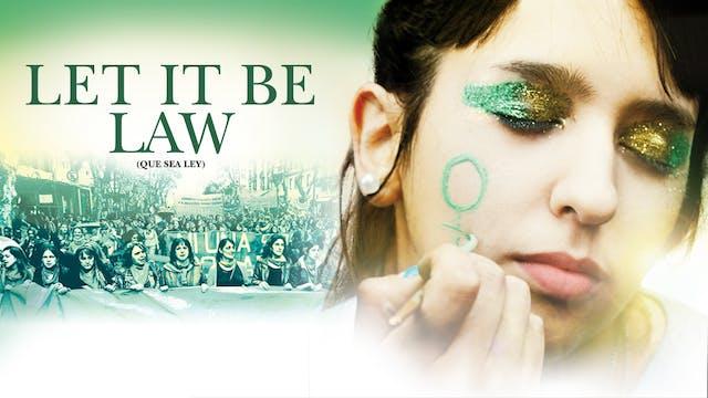 LET IT BE LAW - DU PARC