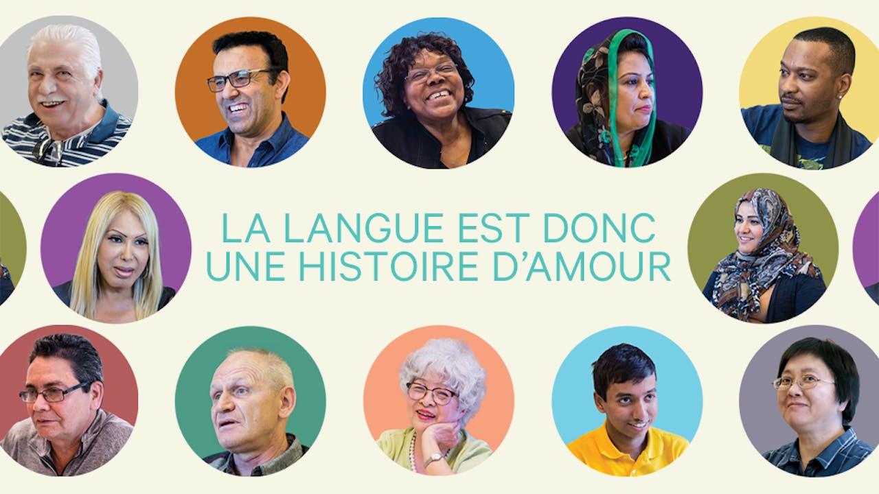 La langue est donc une histoire d'amour