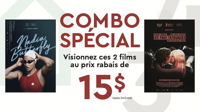 DUO NADIA BUTTERFLY/ FAUX TATOUAGES Cinéma du Parc