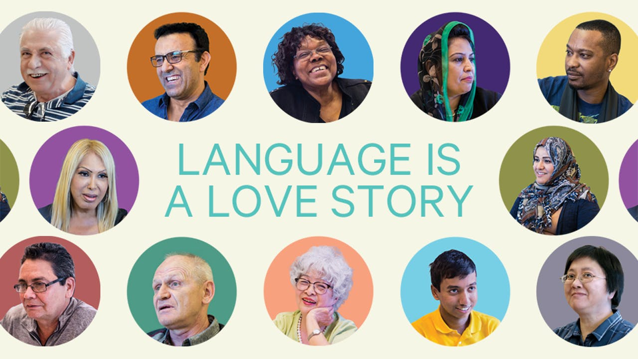 Language is a love story