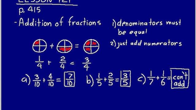 Math 54 2nd ed Lesson 121