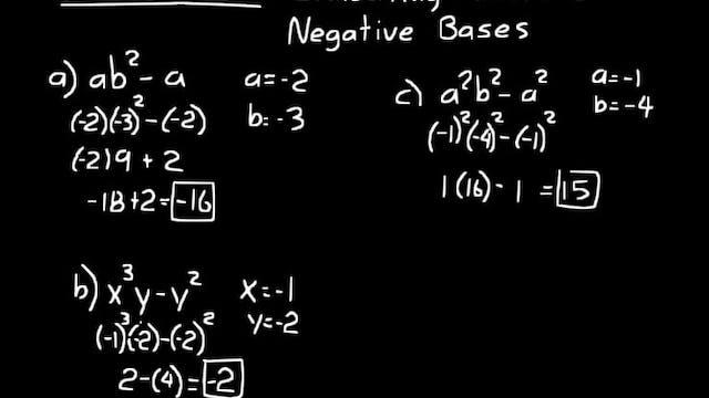 Lesson 105 DIVE Algebra Half, 3rd Edition