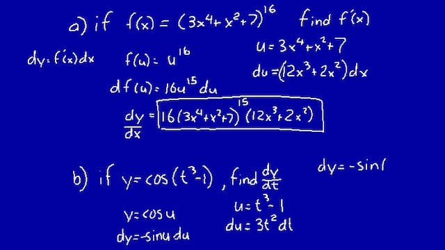 Lesson 37 DIVE Calculus, 2nd Edition