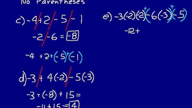 Lesson 91 DIVE Math 8/7 2nd Edition