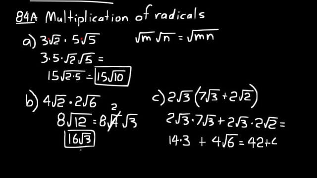 Lesson 84 DIVE Algebra 1, 3rd Edition