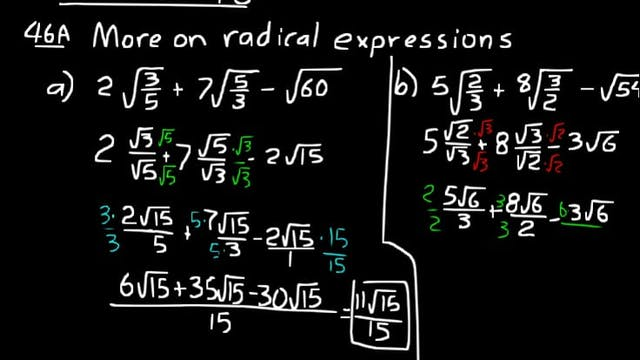 Lesson 46 DIVE Algebra 2, 3rd Edition