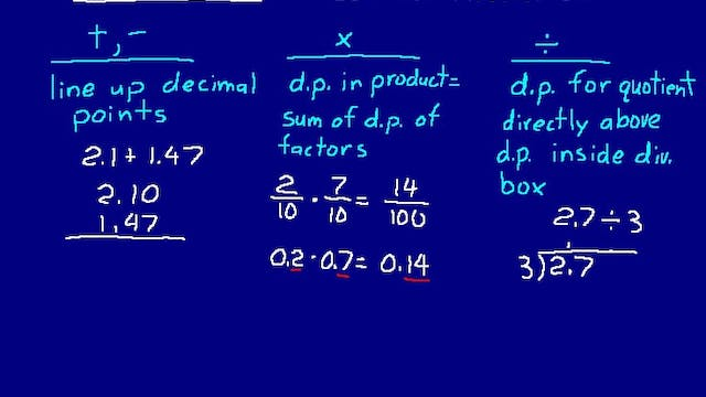 Lesson 35 DIVE Math 8/7 2nd Edition