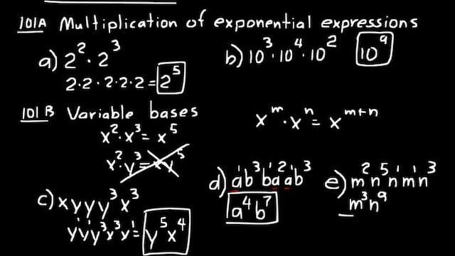 Lesson 101 DIVE Algebra Half, 3rd Edi...