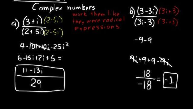 Lesson 81 DIVE Algebra 2, 3rd Edition