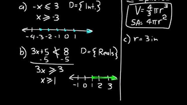 Lesson 91 DIVE Algebra 1, 3rd Edition