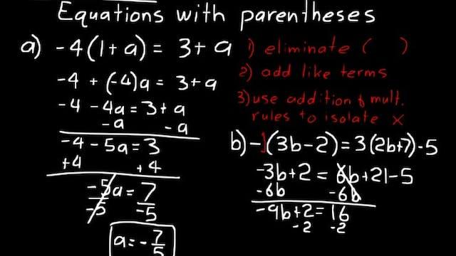 Lesson 31 DIVE Algebra 1, 3rd Edition