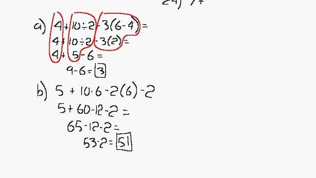 Lesson 43 DIVE Algebra 1/2, 2nd Edition