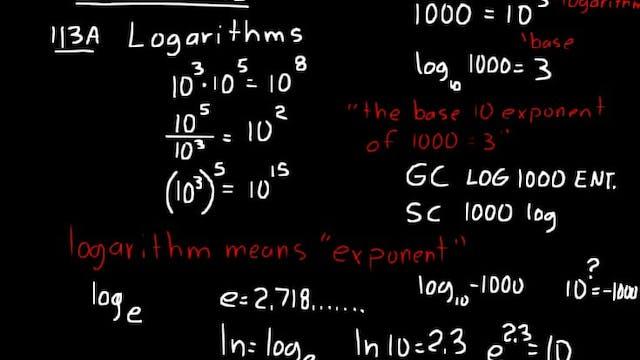 Lesson 113 DIVE Algebra 2, 3rd Edition