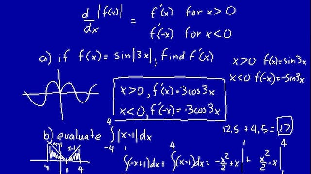 Lesson 103 DIVE Calculus, 1st Edition