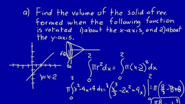 Lesson 71 DIVE Calculus, 2nd Edition