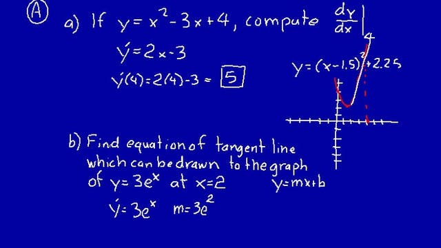 Lesson 27 DIVE Calculus, 2nd Edition